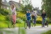 Ausflug mit dem Fahrrad in der Husumer Bucht