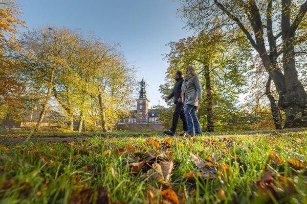 Husumer Schlosspark im Herbst