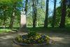 Büste von Theodor Storm im Schlosspark