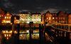 Beleuchteter Speicher, Ergebnis eines deutsch-dänischen Kulturprojekts