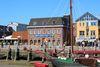 Startpunkt der Tour: das Nationalpark-Haus am Husumer Binnenhafen