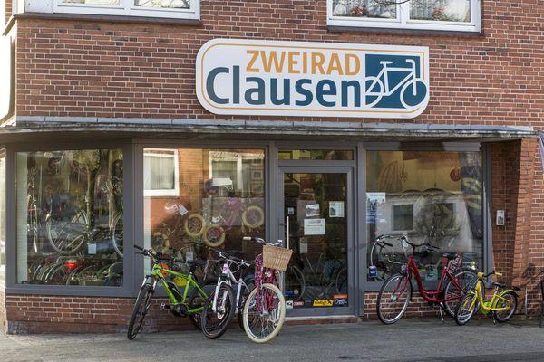 Das Geschäft von Zweirad Clausen