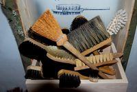Bürsten im Ibacher Museum im alten Rathaus