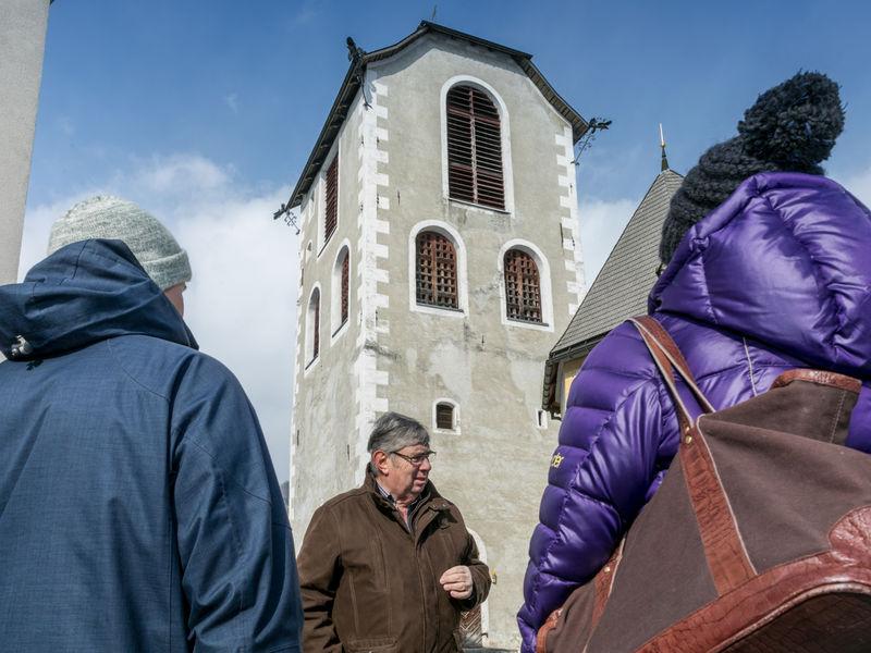 St. Margarethen Kirche Ilanz Stadtführung