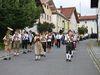 Musikalische Begleitung der Innernzeller Blaskapelle beim Volksfest in Innernzell