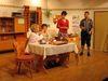 Szene aus einem Stück mit der Theatergruppe Innernzell