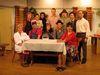Die Laiendarsteller der Theatergruppe Innernzell in der Region Sonnenwald