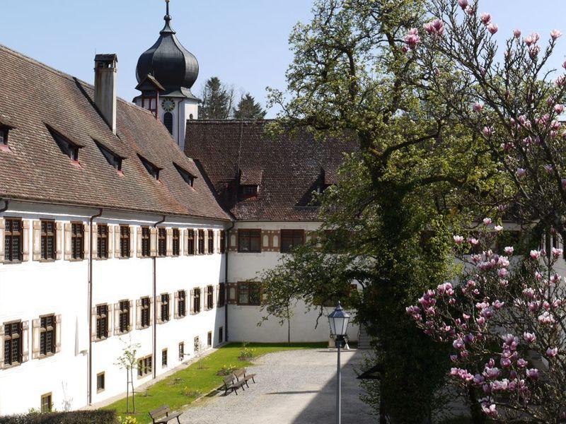 Innenhof des Klosters Inzigkofen
