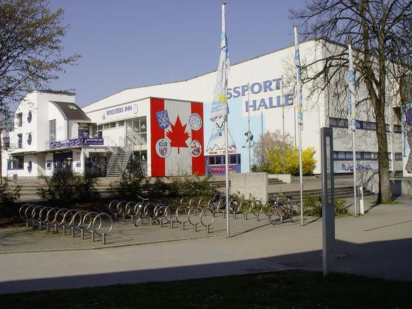 Eissporthalle Außenansicht