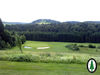 Der Golfplatz in Poppenreut mit Blick zum Wollaberg