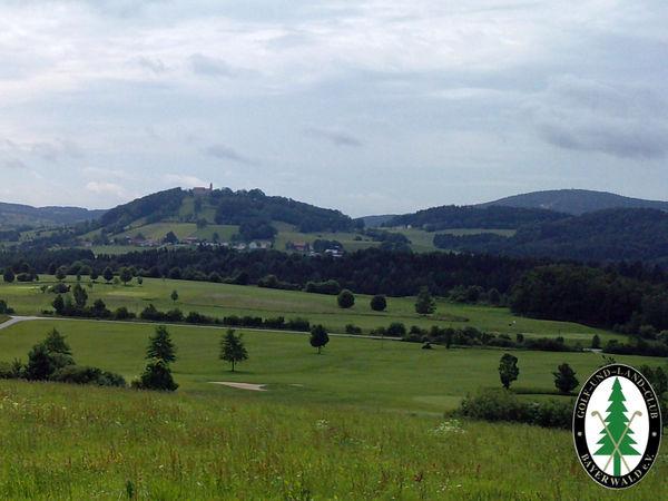 Der Golfplatz in Poppenreut