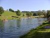Badevergnügen pur am Naturbadesee in Jandelsbrunn