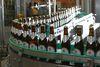 Bierflaschen aus der Privatbrauerei Josef Lang in Jandelsbrunn