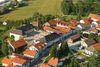 Blick auf das Gelände der Privatbrauerei Josef Lang in Jandelsbrunn