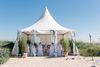 Hochzeitszelt am Strand