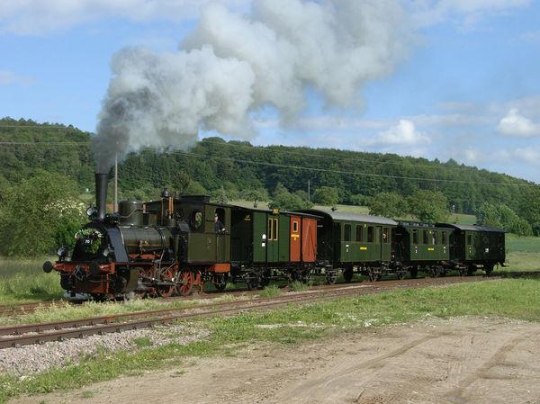 Historische Dampfeisenbahn 'Kandertalbahn'