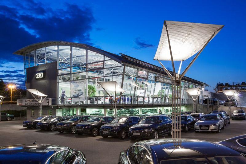 Audi Zentrum Karlsruhe Außenansicht