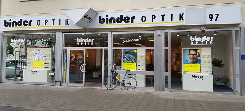 Binder Optik Karlstr. Eingang