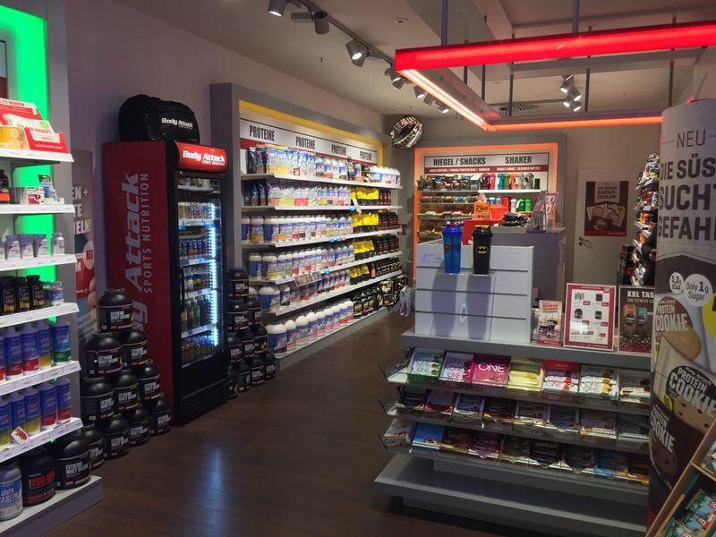 Verkaufstresen und Laden-Überblick