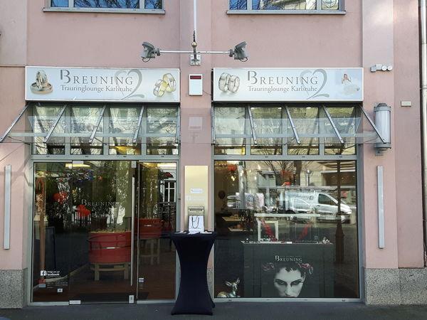 Breuning Trauringlounge Karlsruhe, Außenansicht