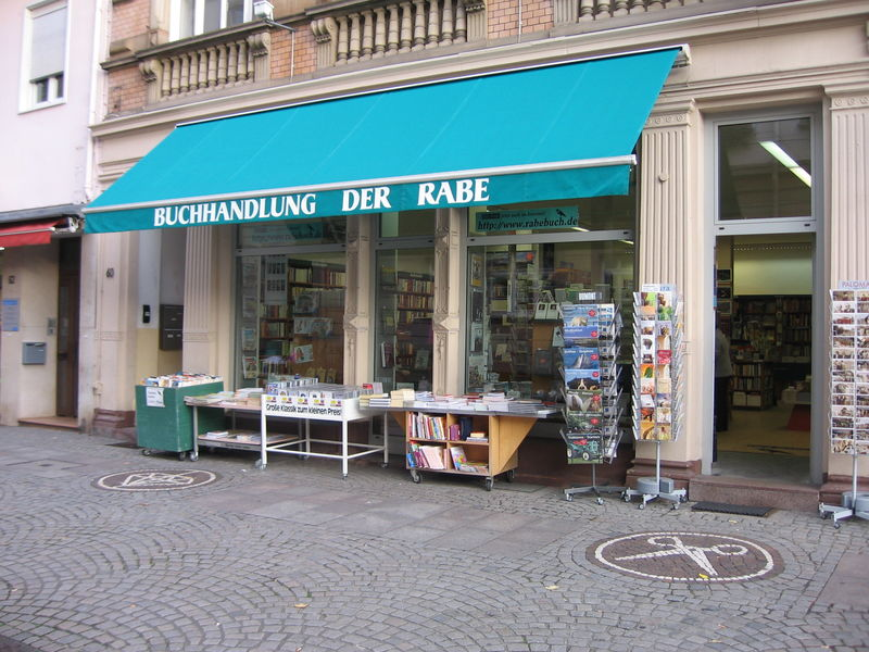 Der Rabe in Karlsruhe