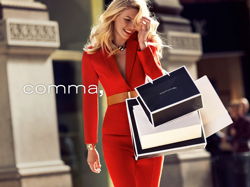 Comma FALL/WINTER Kampagne 2019