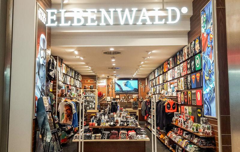 Der Elbenwald-Store im Ettlinger-Tor Center.