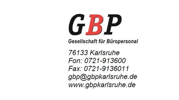 GBP Gesellschaft für Büropersonal mbH Logo