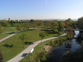 Günther-Klotz-Anlage bei der Europaphalle