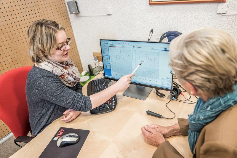Anpaßraum Karlsruhe, Beratung zum individuellen Hörverlust
