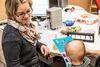 Pädakustik Karlsruhe, Ausprobe bei einem Kind