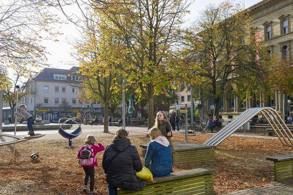 Kirchplatz St. Stephan Spielplatz