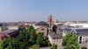 Kirchplatz St. Stephan von oben