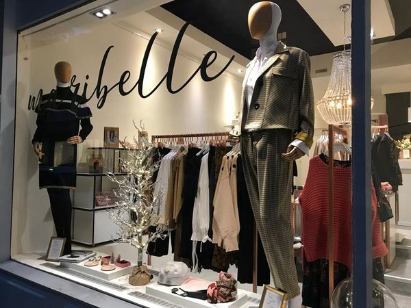Maribelle Boutique Schaufenster