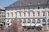 Das Modehaus Schöpf bei der Pyramide am Karlsruher Marktplatz