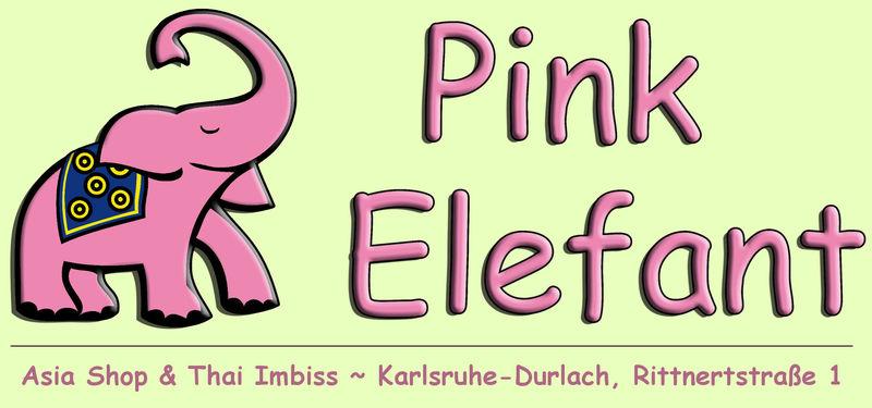Pink Elefant - Logo