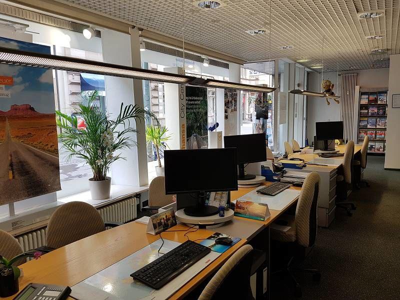 Reisebüro Bühler GmbH Business Travel Lufthansa City Center, Innenansicht