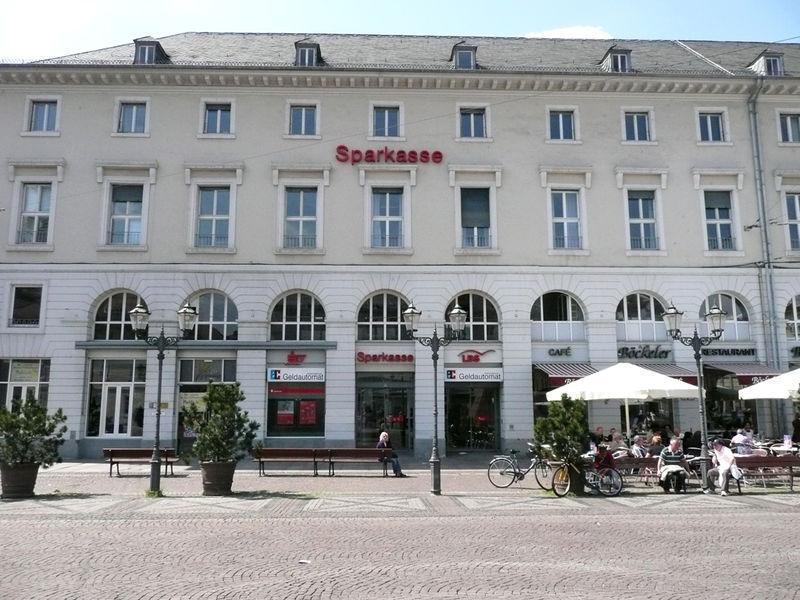 Sparkassenfiliale Marktplatz Karlsruhe