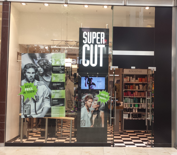 Super Cut Karlsruhe Ettlinger Tor