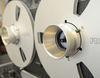Tonbandgerät Revox Detail Spulen und NAB