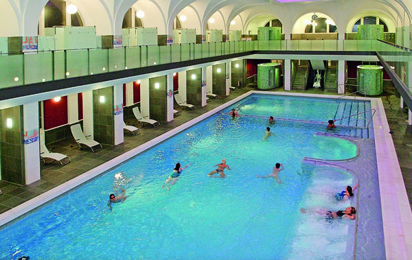 Vierordtbad Karlsruhe, Therme