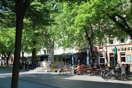 Werderplatz Karlsruhe, Südstadt