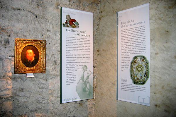 Besucherzentrum im Kloster Weltenburg