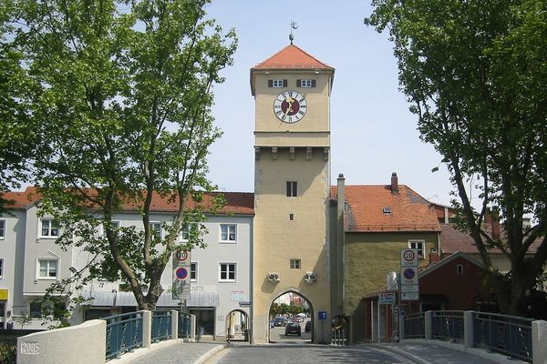 Donautor in Kelheim