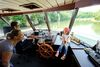 Schifffahrt auf der Donau durch den Donaudurchbruch