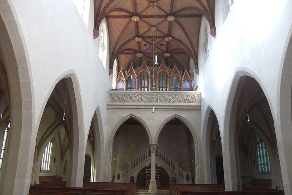 Orgel der Stadtpfarrkirche Mariä Himmelfahrt in Kelheim