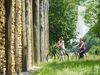 am keltischen Stadttor an der Schleuse in Kelheim-Grondsorf