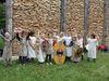 Kinderaktion am keltischen Stadttor an der Schleuse in Kelheim-Gronsdorf
