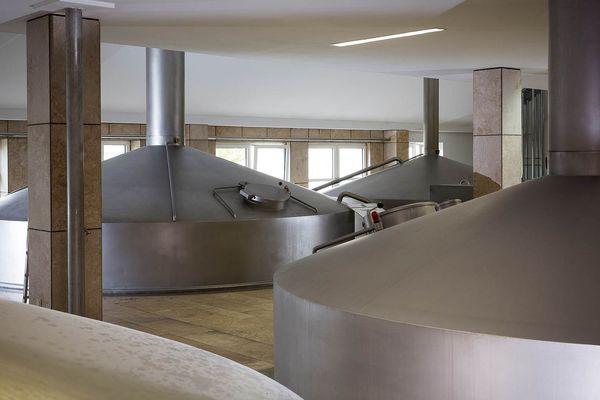 Sudhaus der Weibierbrauerei Schneider in Kelheim