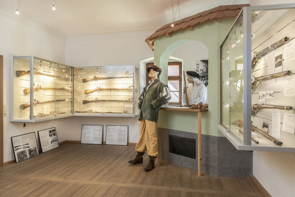 Die wehrkundliche Sammlung im Heimat- und Handfeuerwaffenmuseum